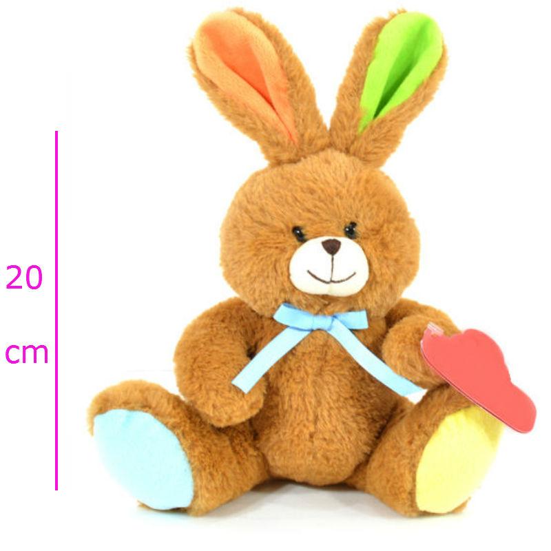 Conejo con moño 2 colores
