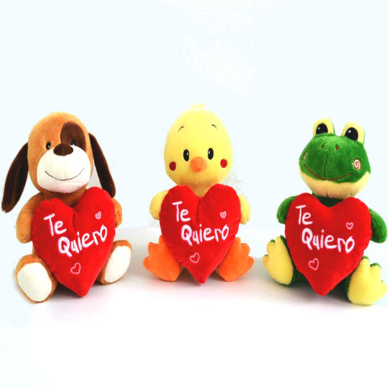 Perro, pato y rana