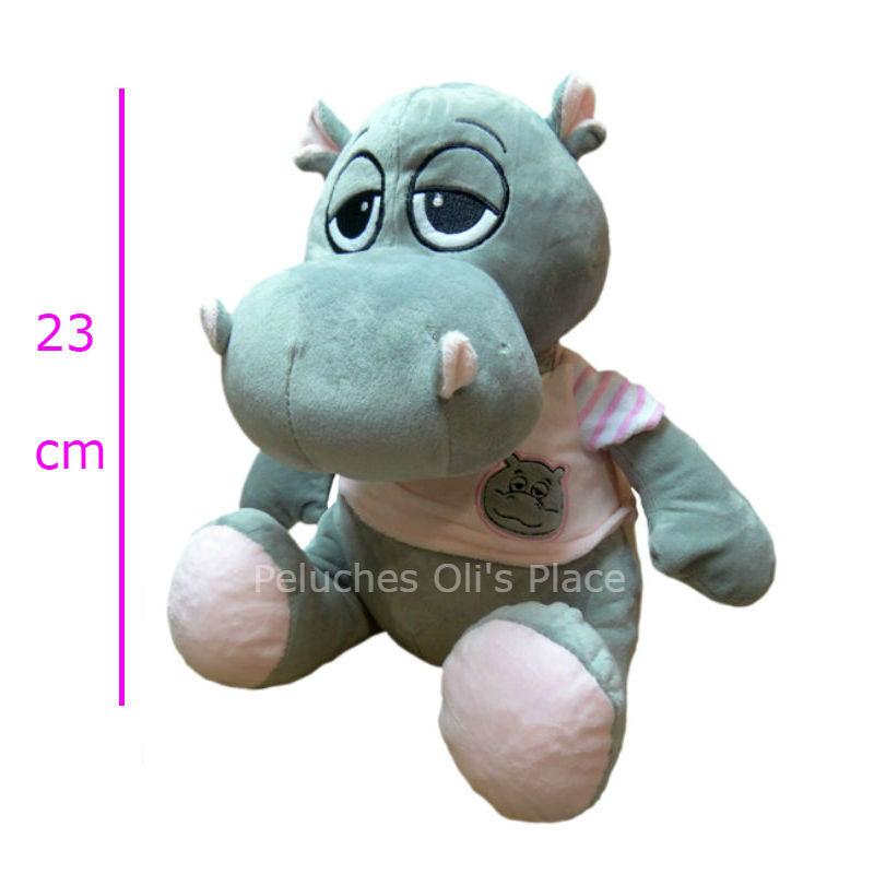 Hipopótamo con remera 2 colores