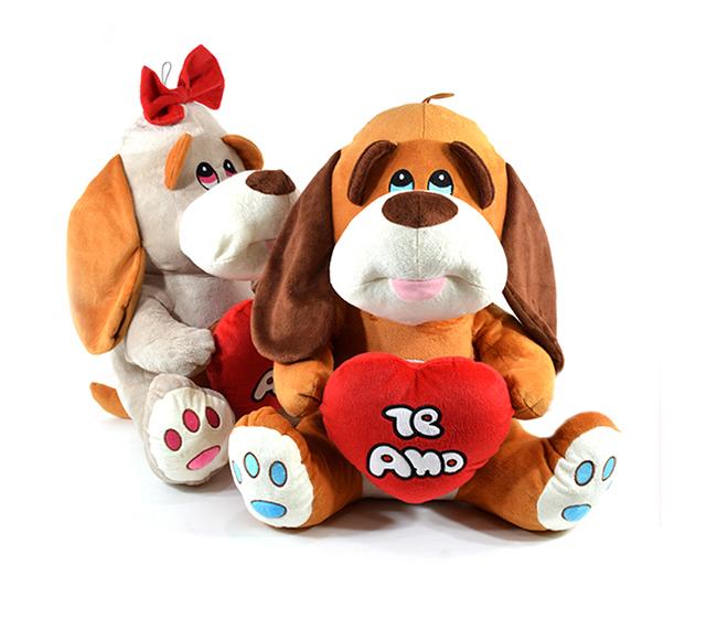 Perro con corazón