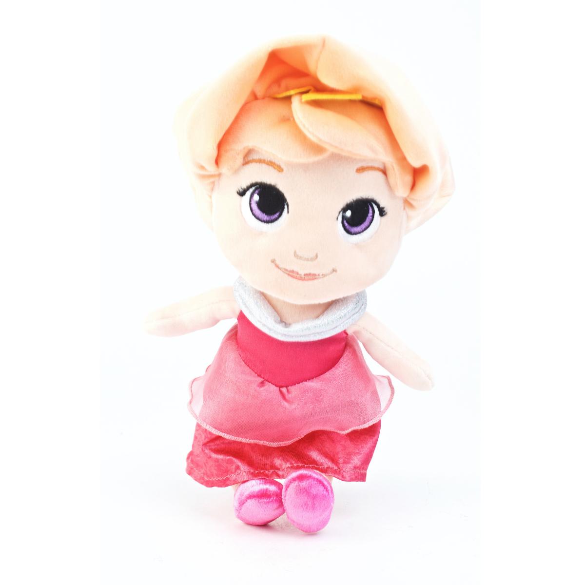 Princesa Aurora De Peluche Con Caja Exhibidora
