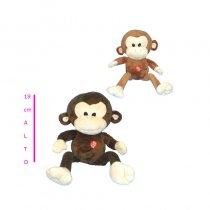 Mono de peluche con sonido