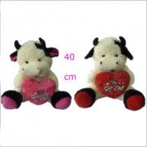 Vaca con corazón