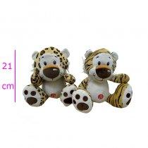 Leopardo y tigre con sonido