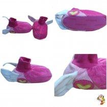 Pantufla niño 2 colores con pulsera 11-12  ( talle 28/29.5 )