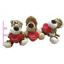 Leopardo,león y tigre con sonido