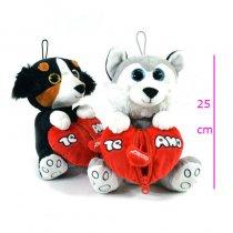 Perro con corazón 3 modelos