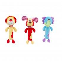 Sonajero elefante, león y perro