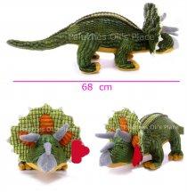 Dinosaurio Grande De Peluche Triceratops Con Sonido