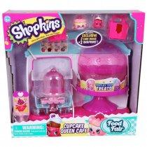 Shopkins Cupcake Café Original + 2 figuras