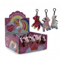 Llavero unicornio de peluche Con Sonido