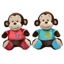 Mono De Peluche Con Remera