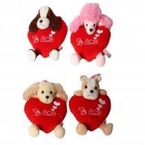 Animales Con Cuerpo de Corazón 4 Rasas Te Amo