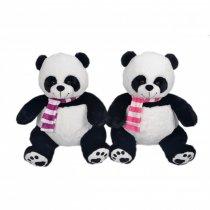 Oso Panda De Peluche Con Bufanda 35 cm