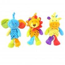 Cunero elefante, león y jirafa
