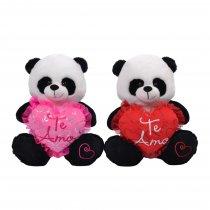 Panda Con Corazón TE AMO 35 cm sentado