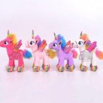 Unicornio Grande Brillos y Detalles de Calidad 47 cm