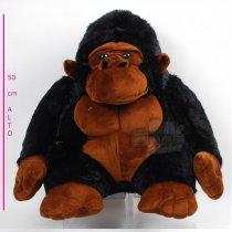 Gorila Hermoso color de Piel 50 cm Sentado