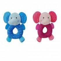 Peluche Sonajero Elefante con Mordillo