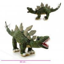 Peluche Dinosaurio Stegosaurus Gigante con Sonido 80 cm Largo