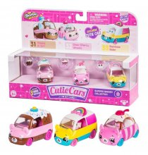 Cutie Cars X 3 + Figura