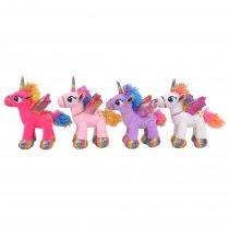 Unicornio de peluche 4 colores chico