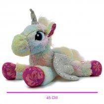 Peluche unicornio 40 cm largo