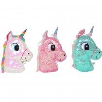 Almohada de peluche unicornio