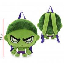 Mochila Hulk de peluche con luz original MARVEL