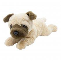 Perro pug de peluche 40 cm