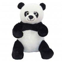 Panda de peluche ojos brillantes 23 cm sentado