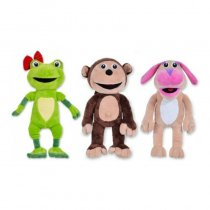 Bubba y sus amigos set x3 Original 27 cm
