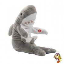 Tiburon de peluche con sonido y movimento