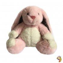 Conejo de Peluche Rosa 19CM