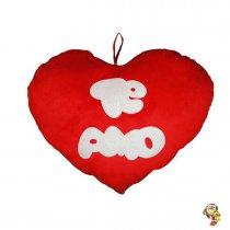 Almohadon de peluche en forma de corazon 45CM