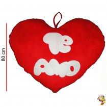 Almohadon de peluche en forma de corazon 80CM