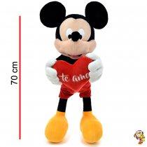 Mickey Mouse de peluche original con corazón 70CM