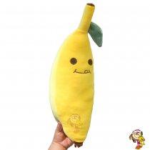 Almohada Banana peluche Kawaii 48 cm