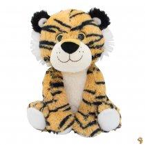 Tigre de peluche 25 cm sentado