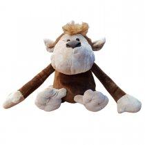 Mono de peluche brazos largos 35 cm parado