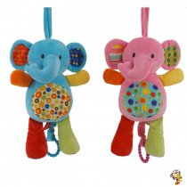 Cunero musical elefante dos colores