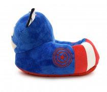 Pantuflas Capitán América 4 pares 1 x taalle