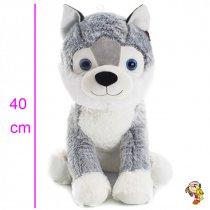 Perro siberiano grande 40 cm