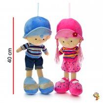 Muñeca muñeco de peluche 40 cm