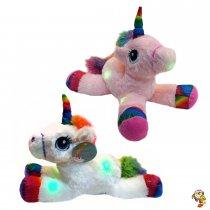 Unicornio con luces y sonido 38 cm