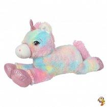 Unicornio de peluche multicolor 53 cm