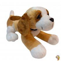 Perro beagle de peluche con sonido 20 cm