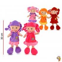 Muñeca musical varios colores 30 cm