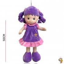 Muñeca musical de peluche 50 cm