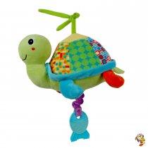 Cunero tortuga de peluche 22 cm